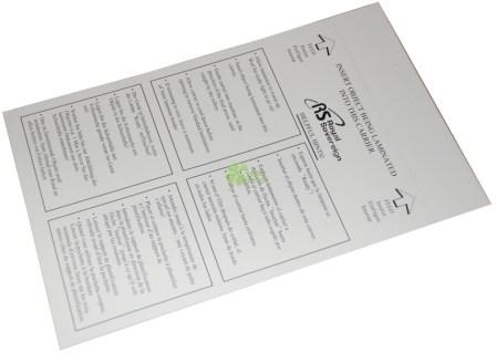 Защитные конверты для ламинирования