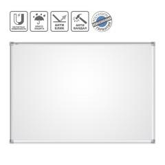 Доска магнитная маркерная BoardSYS 120 х 200 см, металлокерамика антивандальное покрытие, алюминиевая рама