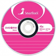 Диск DVD-RW 4.7Gb Smart Track 4x Slim