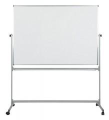 Доска поворотная магнитная маркерная BoardSYS 75 х 100 см, полимерное покрытие, металл профиль, 2-стор, на колесах