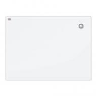 Доска стеклянная SAFE GLASS 60х80 см 2x3 (Польша) магнитно-маркерная, цвет: белый