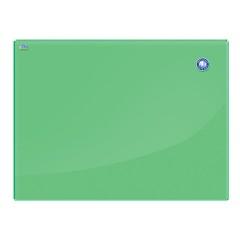 Доска магнитно-маркерная 2x3 OFFICE 60х80 см, стеклянная, зелёная, 236541
