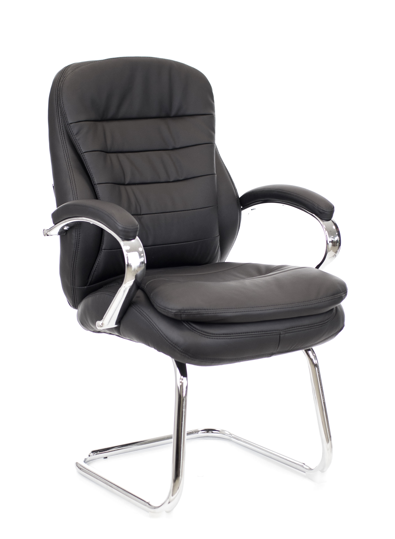 Конференц кресло Everprof Valencia CF экокожа черный